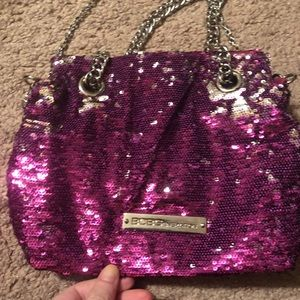 BCB cocktail sequin purse